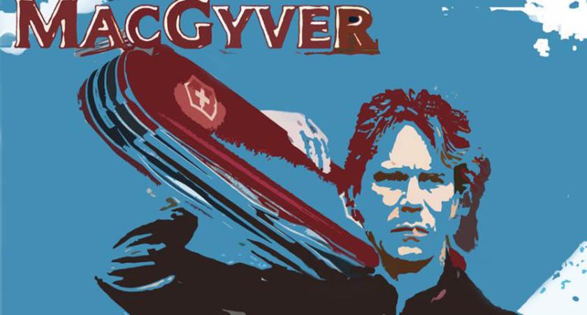 imagem do macgyver com um canivete