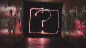 símbolo de interrogação